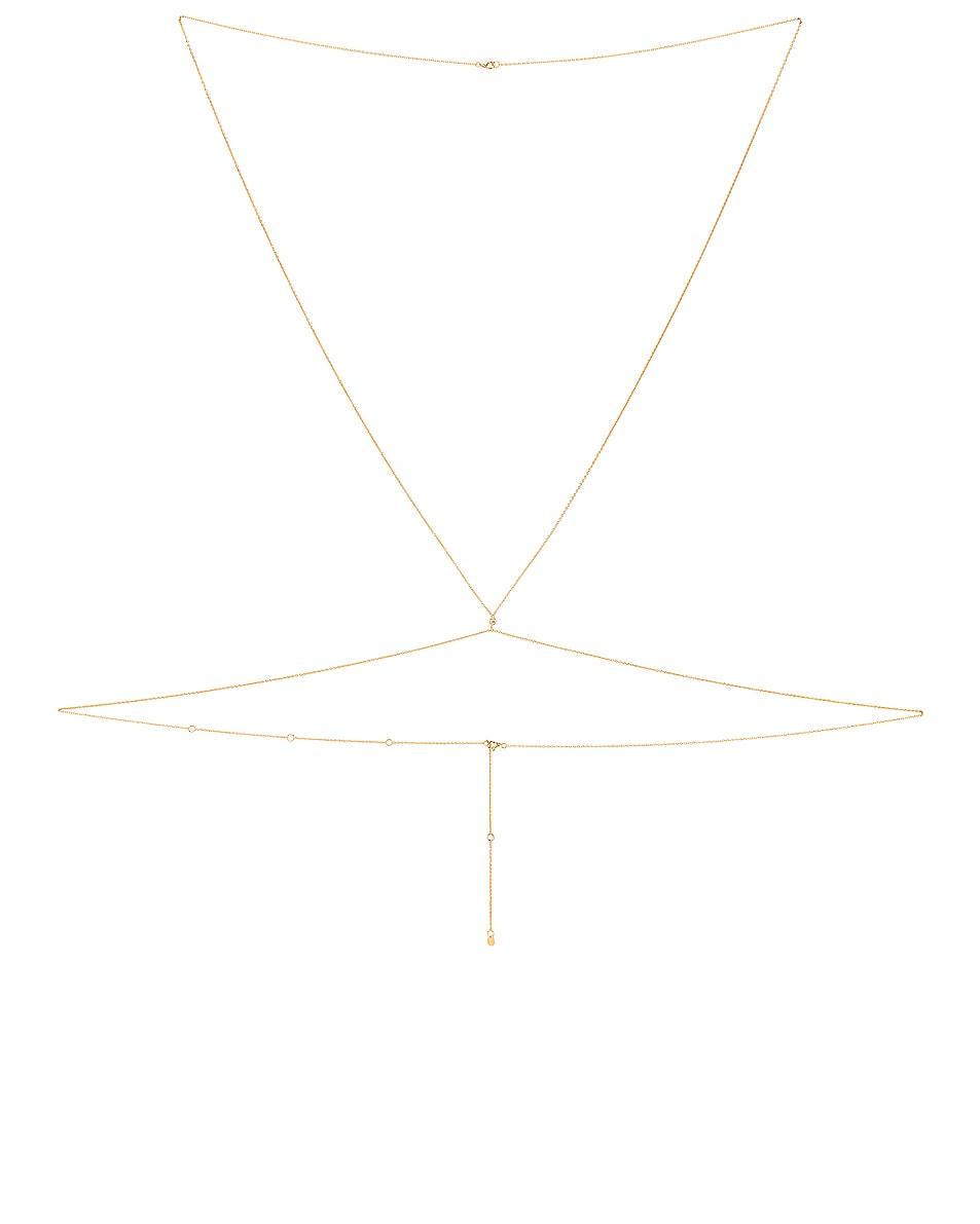 Image 1 of Jordan Road Jewelry Bora Bora Body Chain in Gold