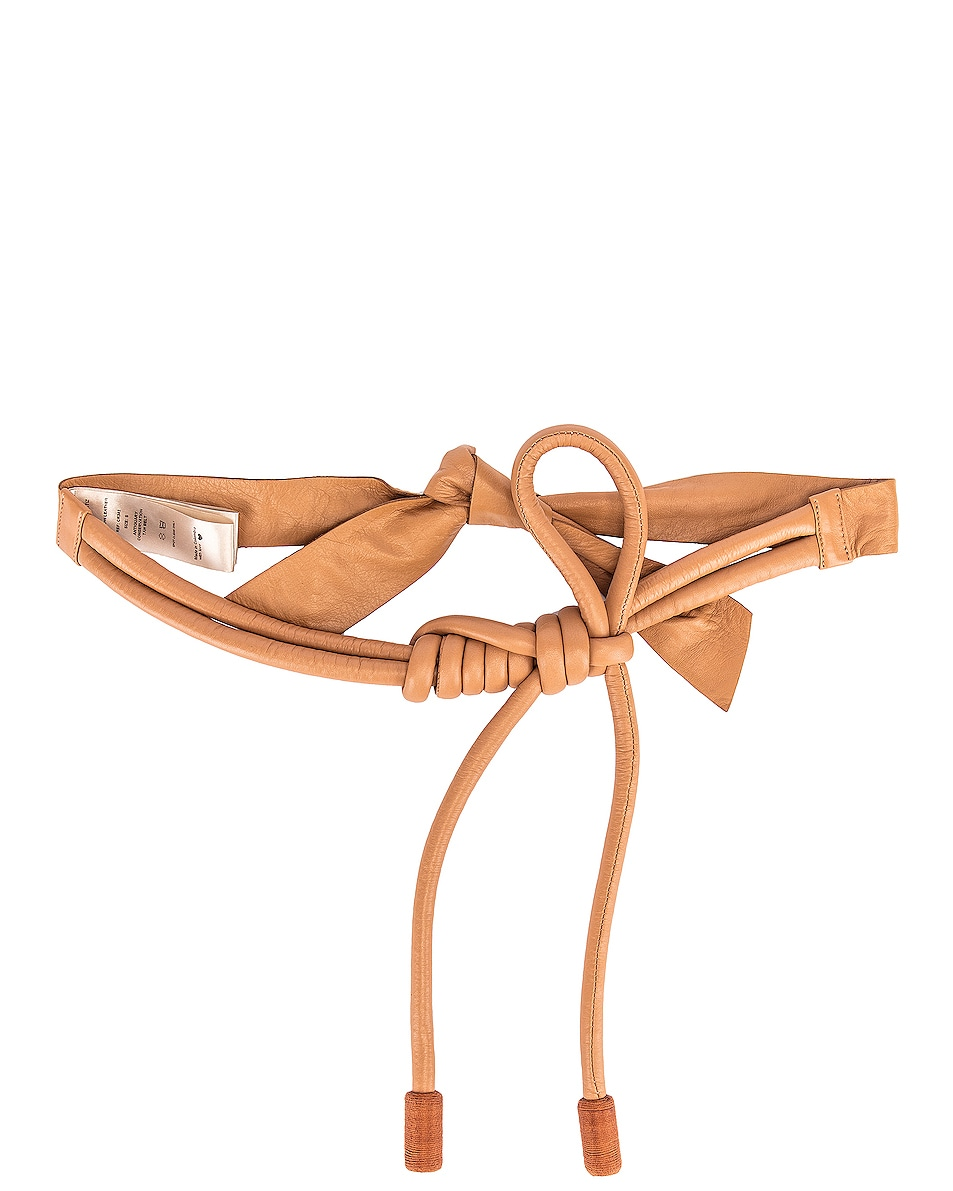 Image 1 of Johanna Ortiz Antiquary Conservation Leather Belt in Tan