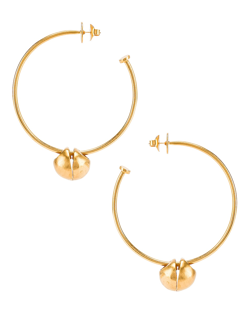 Image 1 of Johanna Ortiz Queen of Highland Earrings in Gold