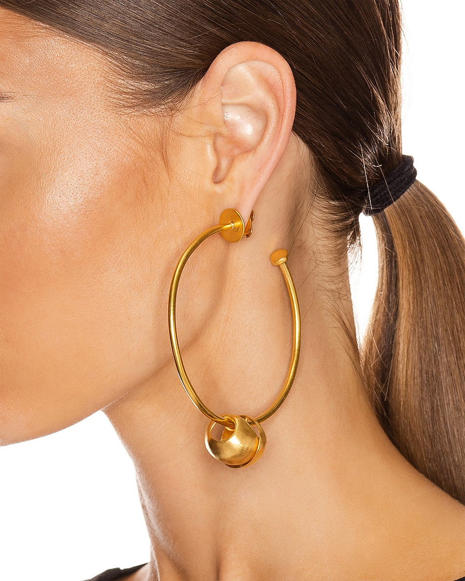 Image 2 of Johanna Ortiz Queen of Highland Earrings in Gold