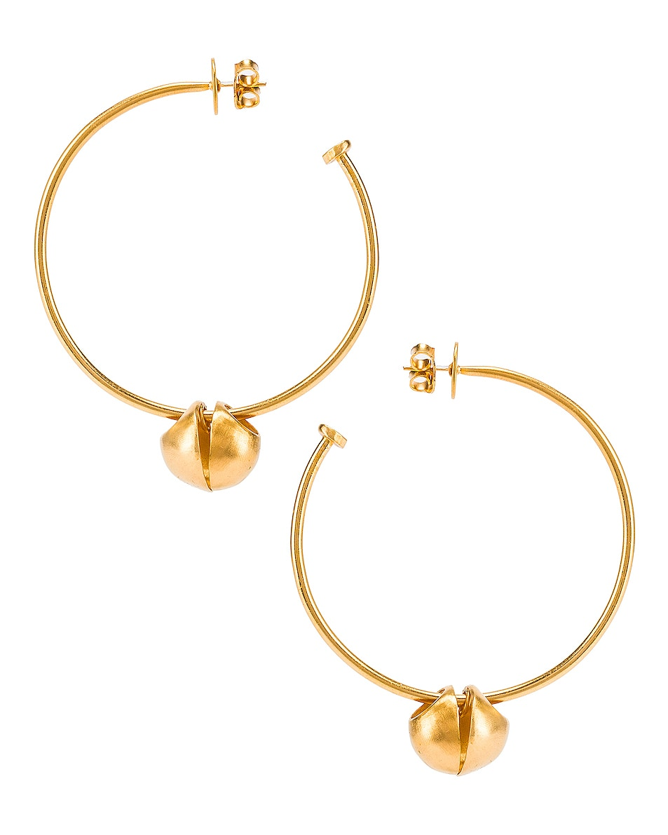 Image 4 of Johanna Ortiz Queen of Highland Earrings in Gold
