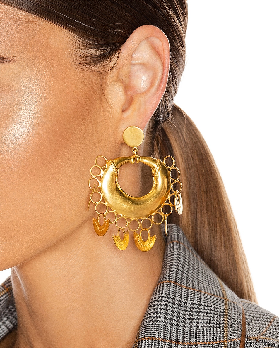 Image 2 of Johanna Ortiz Albarcoque Earrings in Gold