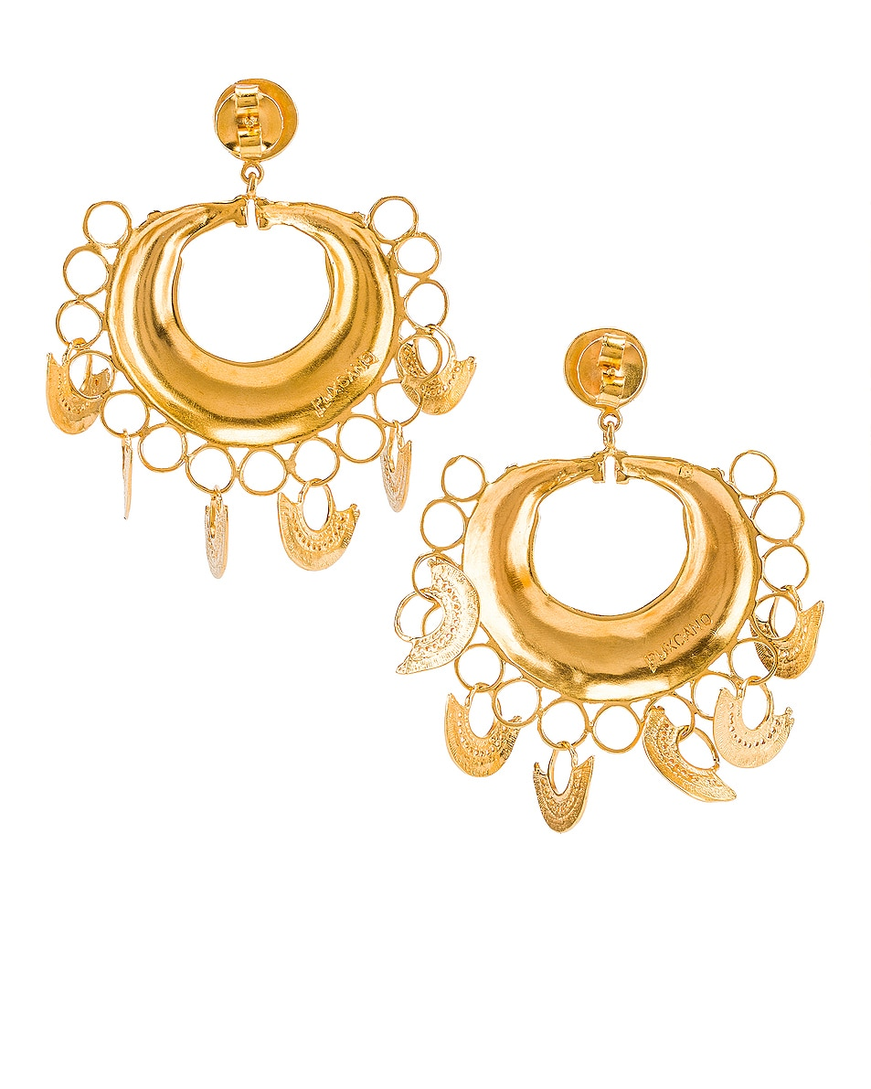 Image 4 of Johanna Ortiz Albarcoque Earrings in Gold