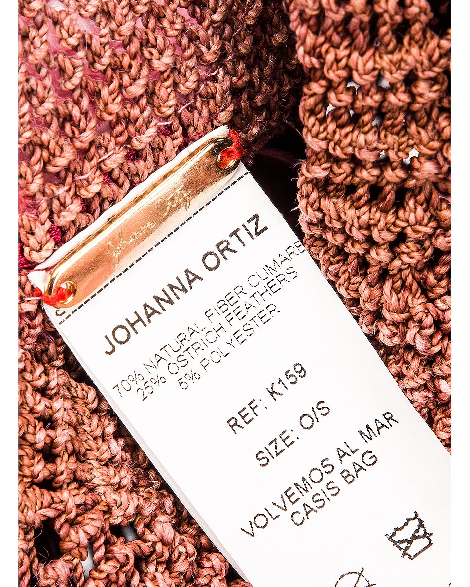 Image 6 of Johanna Ortiz Volvemos Al Mar Casis Bag in Casis