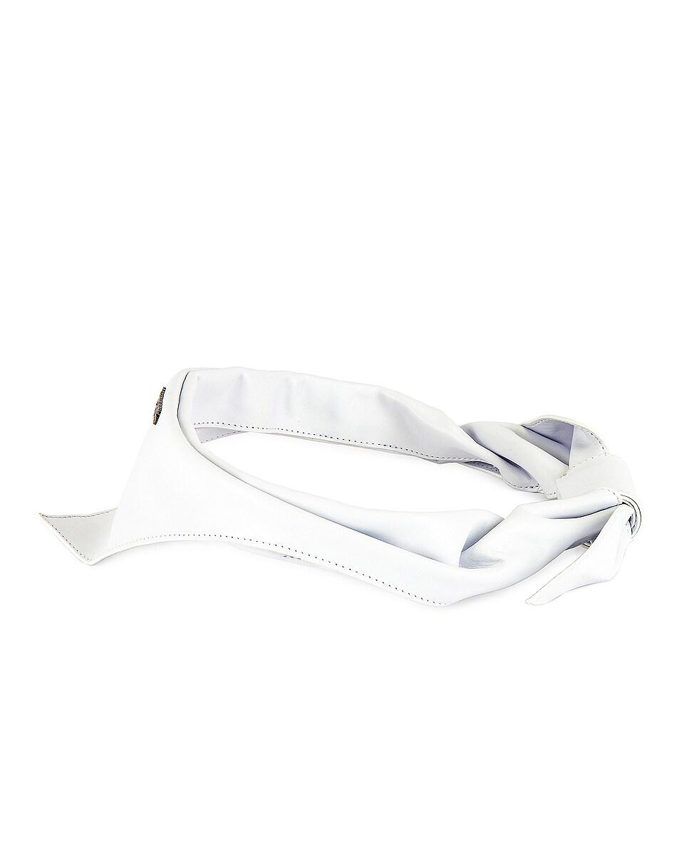 Image 3 of JACQUEMUS Bandana in White