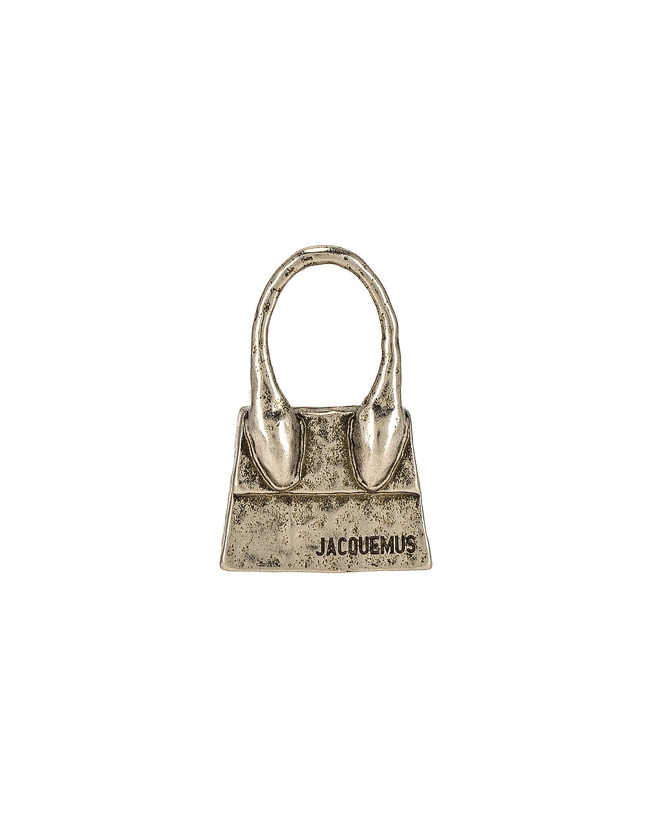 Image 1 of JACQUEMUS Le Chiquito Earring in Silver