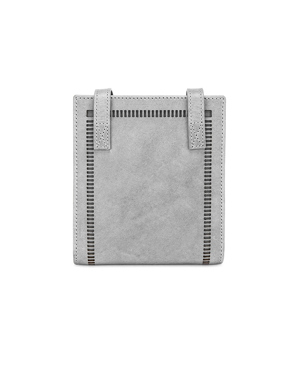 Image 2 of JACQUEMUS Neck Wallet in Stone Grey
