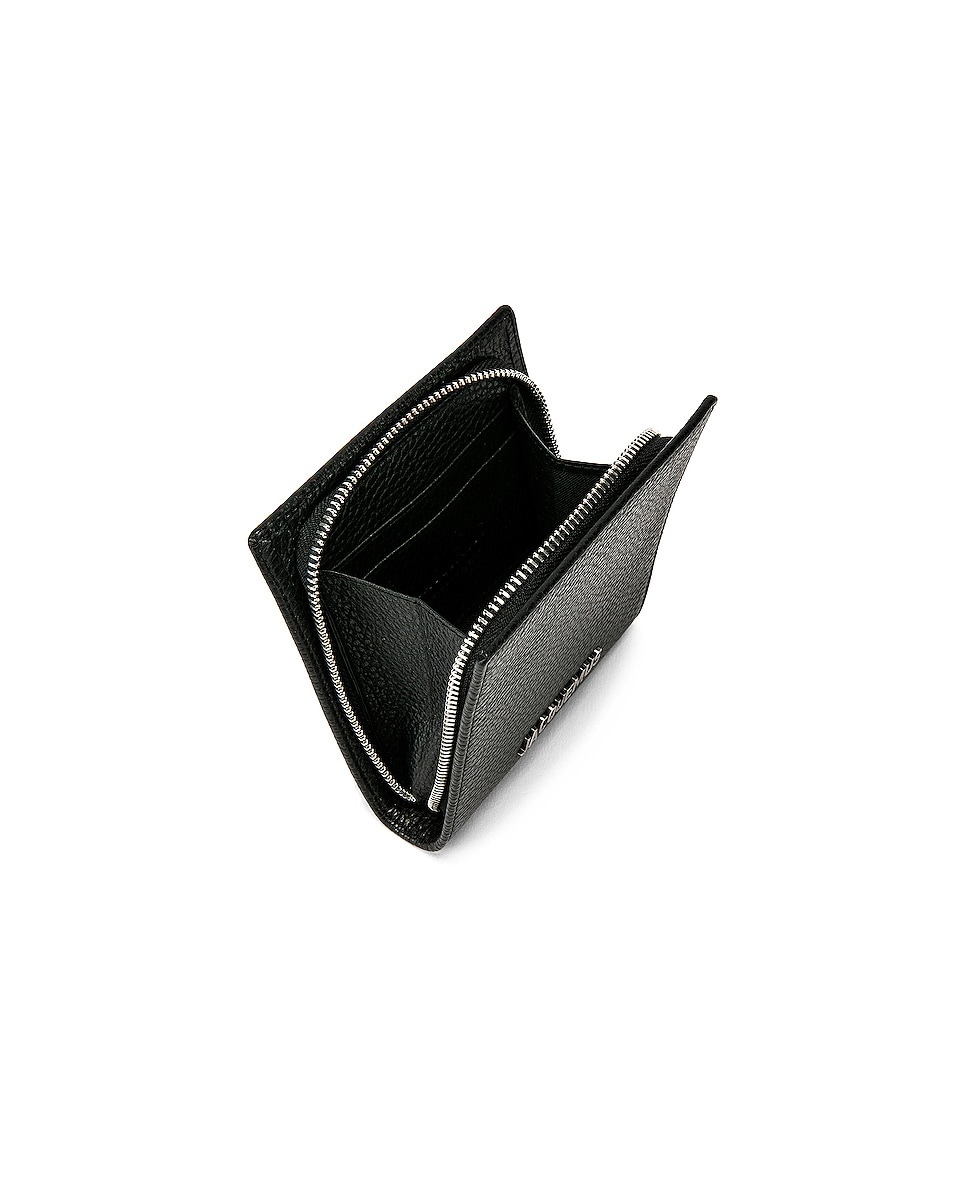 Image 4 of JACQUEMUS Leather Neck Wallet in Black