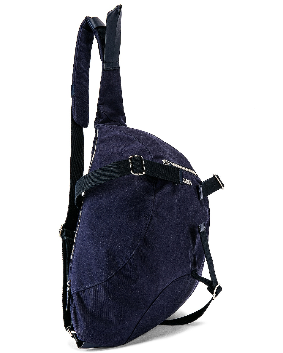 Image 3 of JACQUEMUS Backpack in Navy