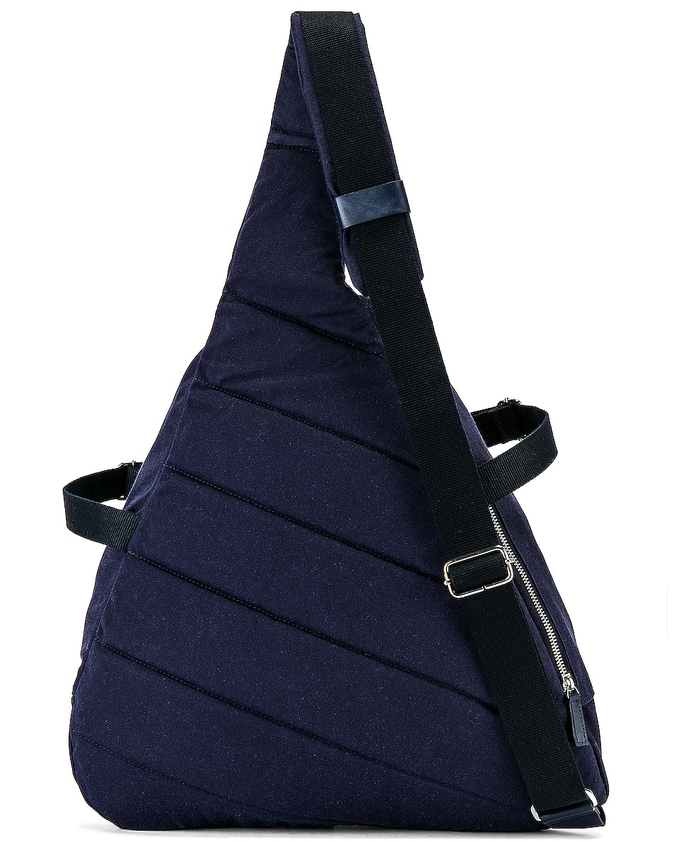 Image 4 of JACQUEMUS Backpack in Navy