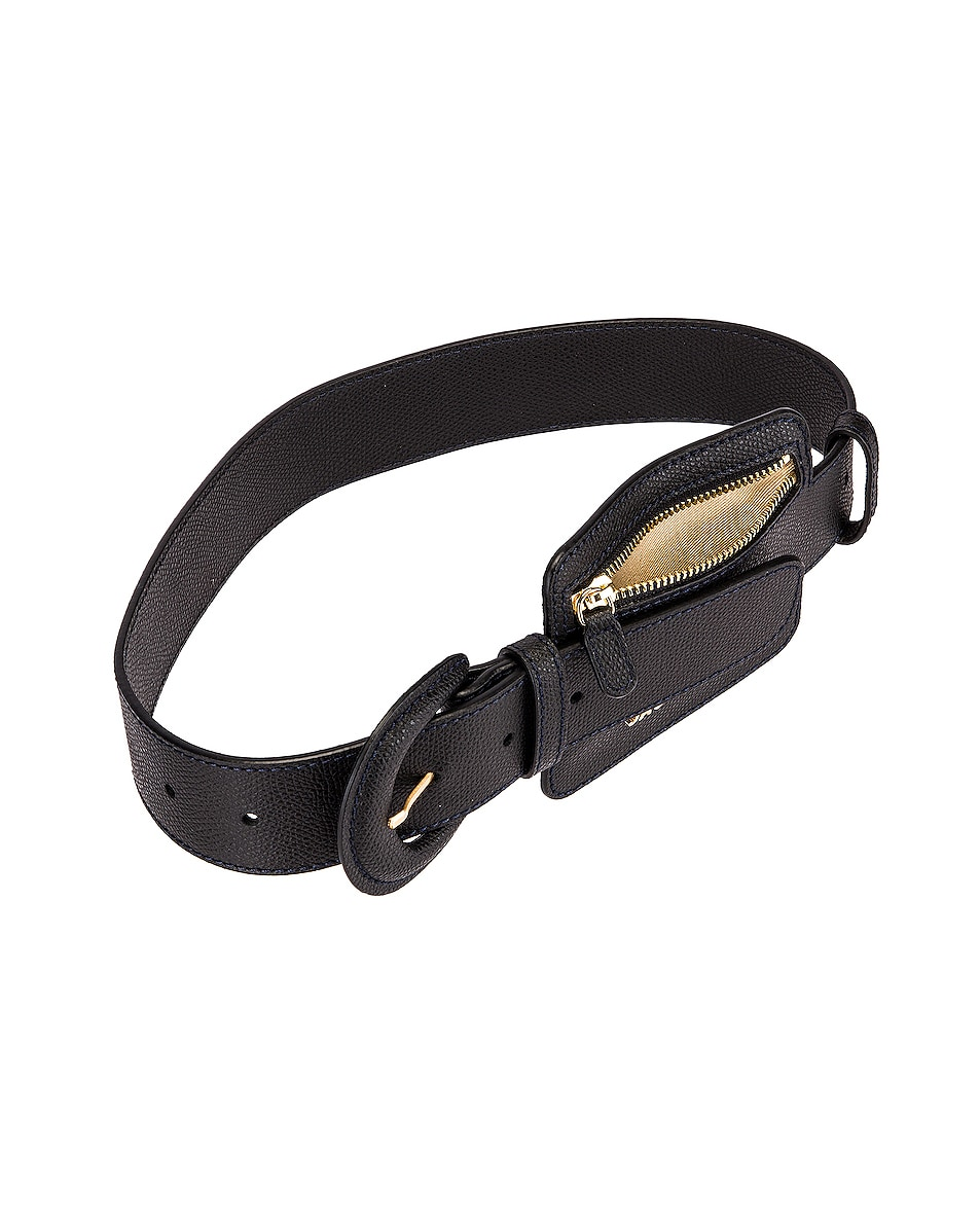Image 4 of JACQUEMUS Wallet Belt in Black