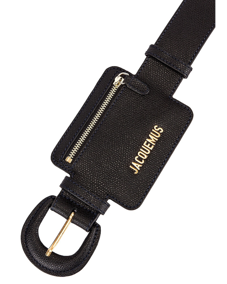 Image 6 of JACQUEMUS Wallet Belt in Black