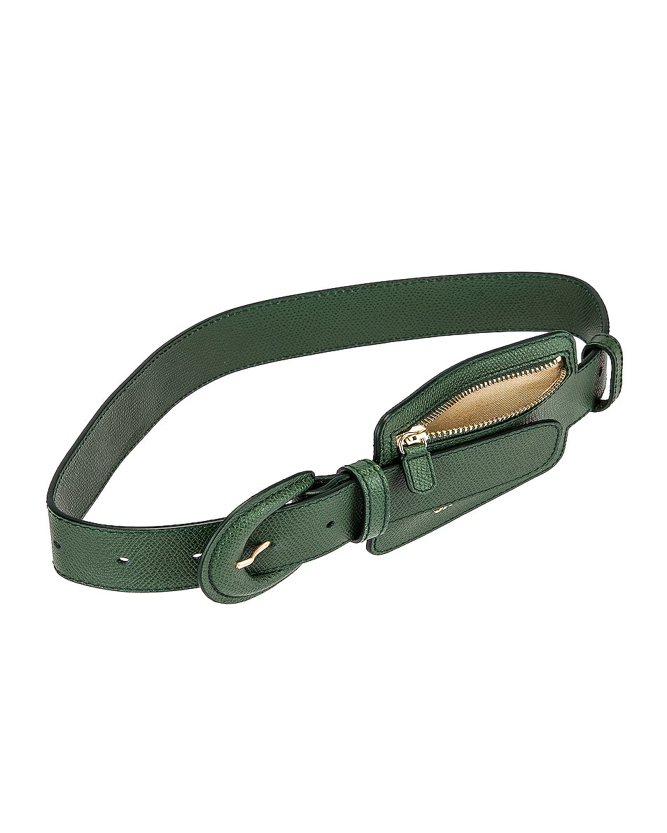Image 4 of JACQUEMUS Wallet Belt in Dark Green