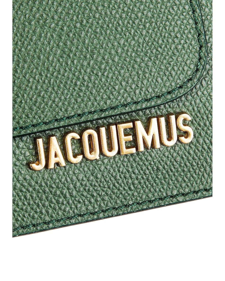 Image 5 of JACQUEMUS Wallet Belt in Dark Green
