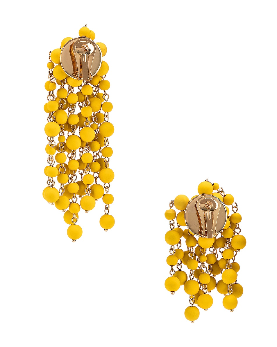 Image 4 of JACQUEMUS Les Mimosas Earrings in Yellow