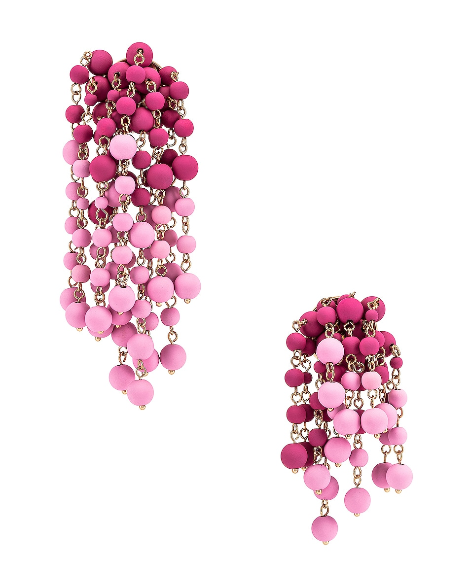 Image 1 of JACQUEMUS Les Mimosas Earrings in Pink