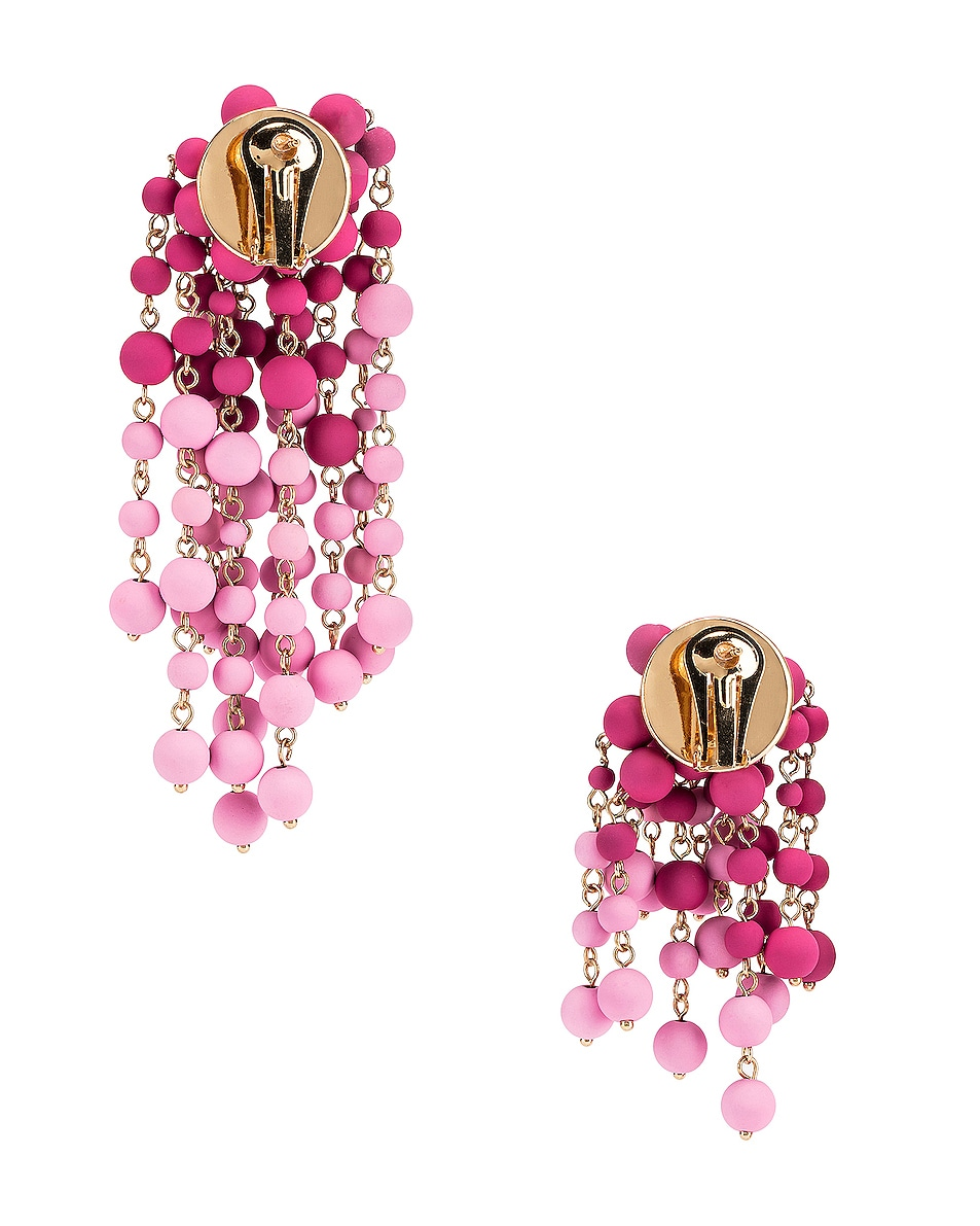 Image 4 of JACQUEMUS Les Mimosas Earrings in Pink