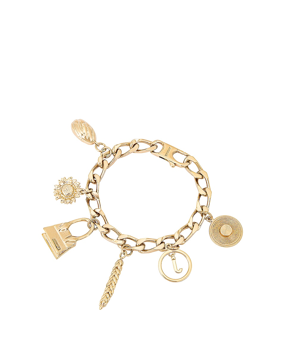 Image 1 of JACQUEMUS Le Bracelet in Gold