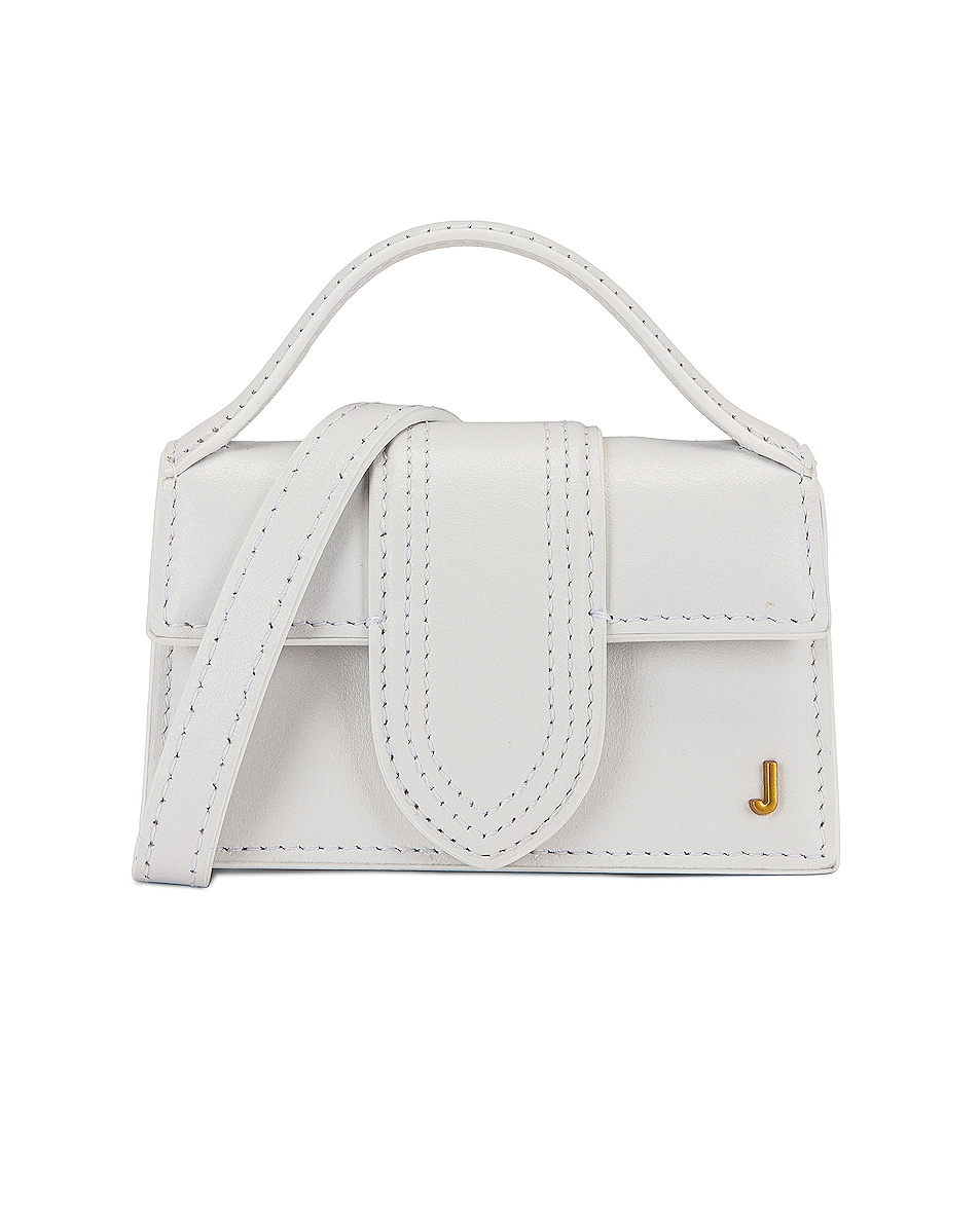 Image 1 of JACQUEMUS Le Petite Bambino Bag in White