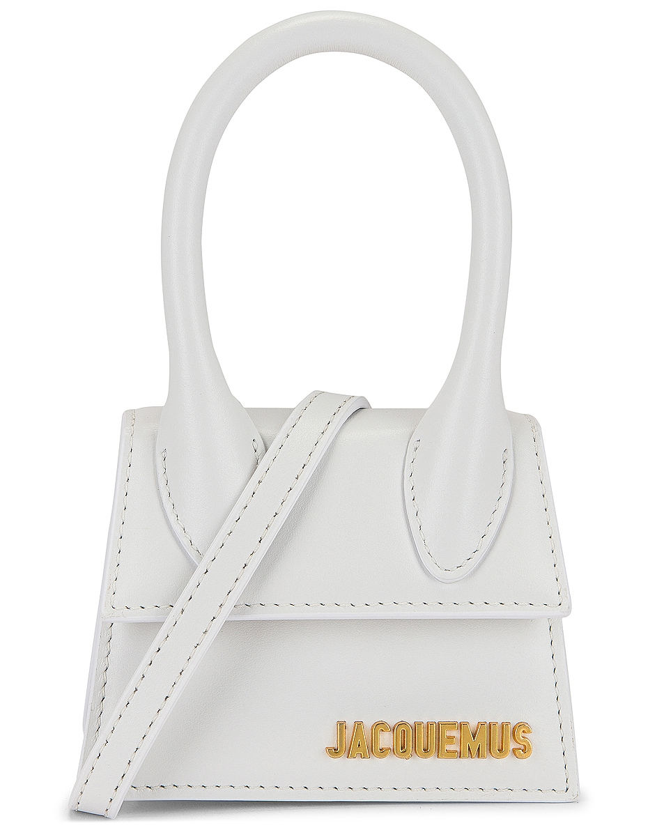 Image 1 of JACQUEMUS Le Chiquito Bag in White