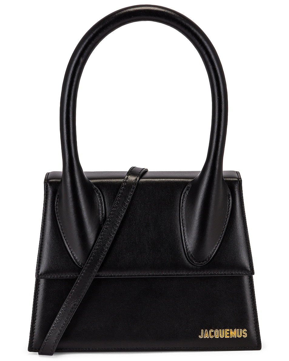 Image 1 of JACQUEMUS Le Grand Chiquito Bag in Black