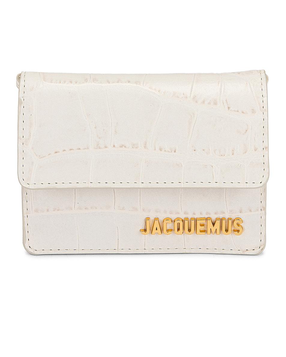 Image 1 of JACQUEMUS Le Petit Riviera Bag in Off White