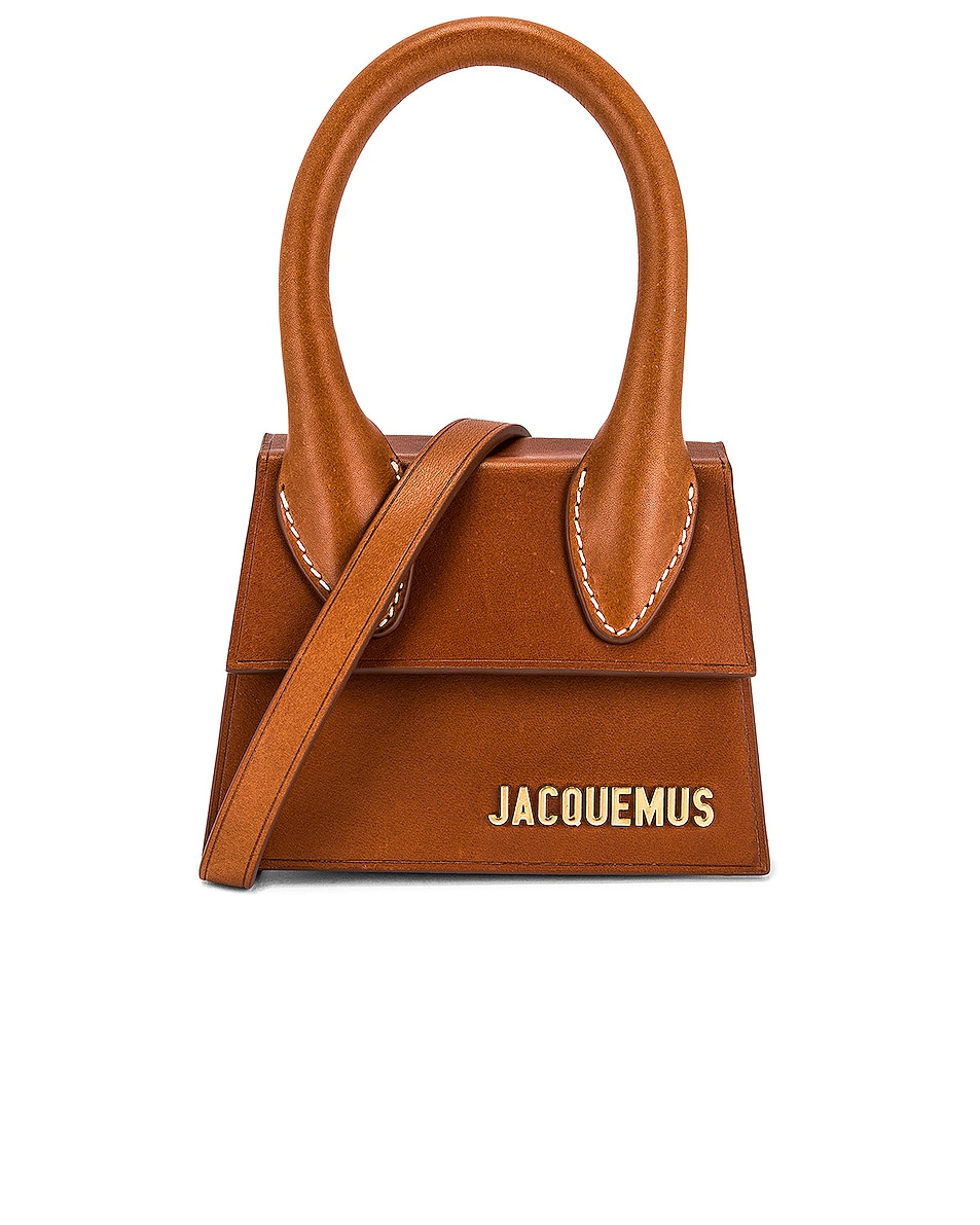 Image 1 of JACQUEMUS Le Chiquito Bag in Brown