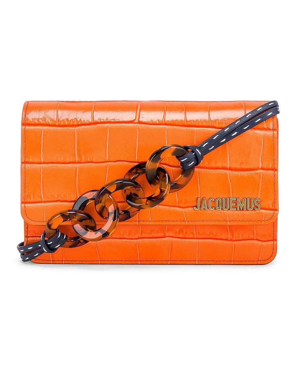 Image 1 of JACQUEMUS Le Sac Riviera Bag in Orange