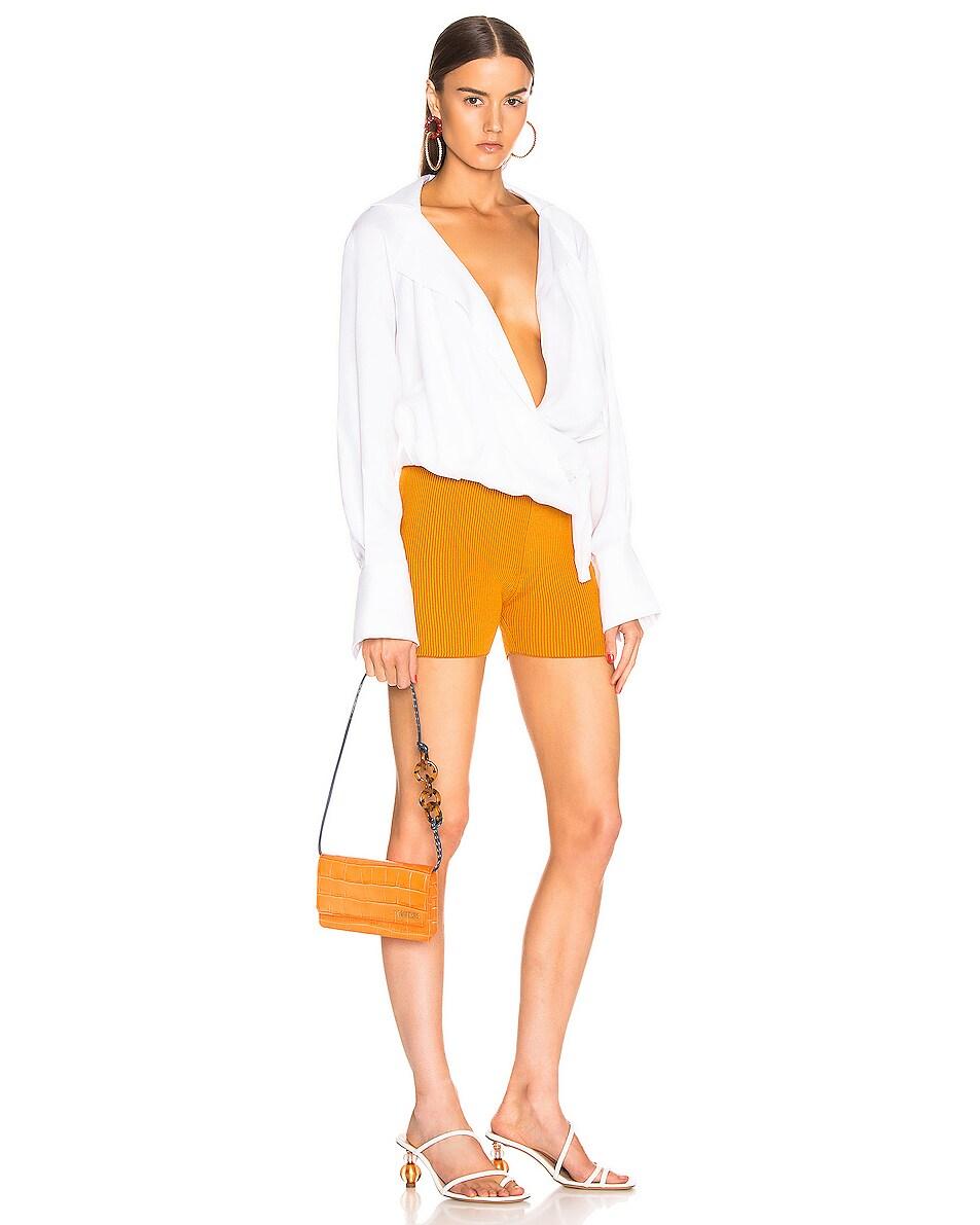 Image 2 of JACQUEMUS Le Sac Riviera Bag in Orange