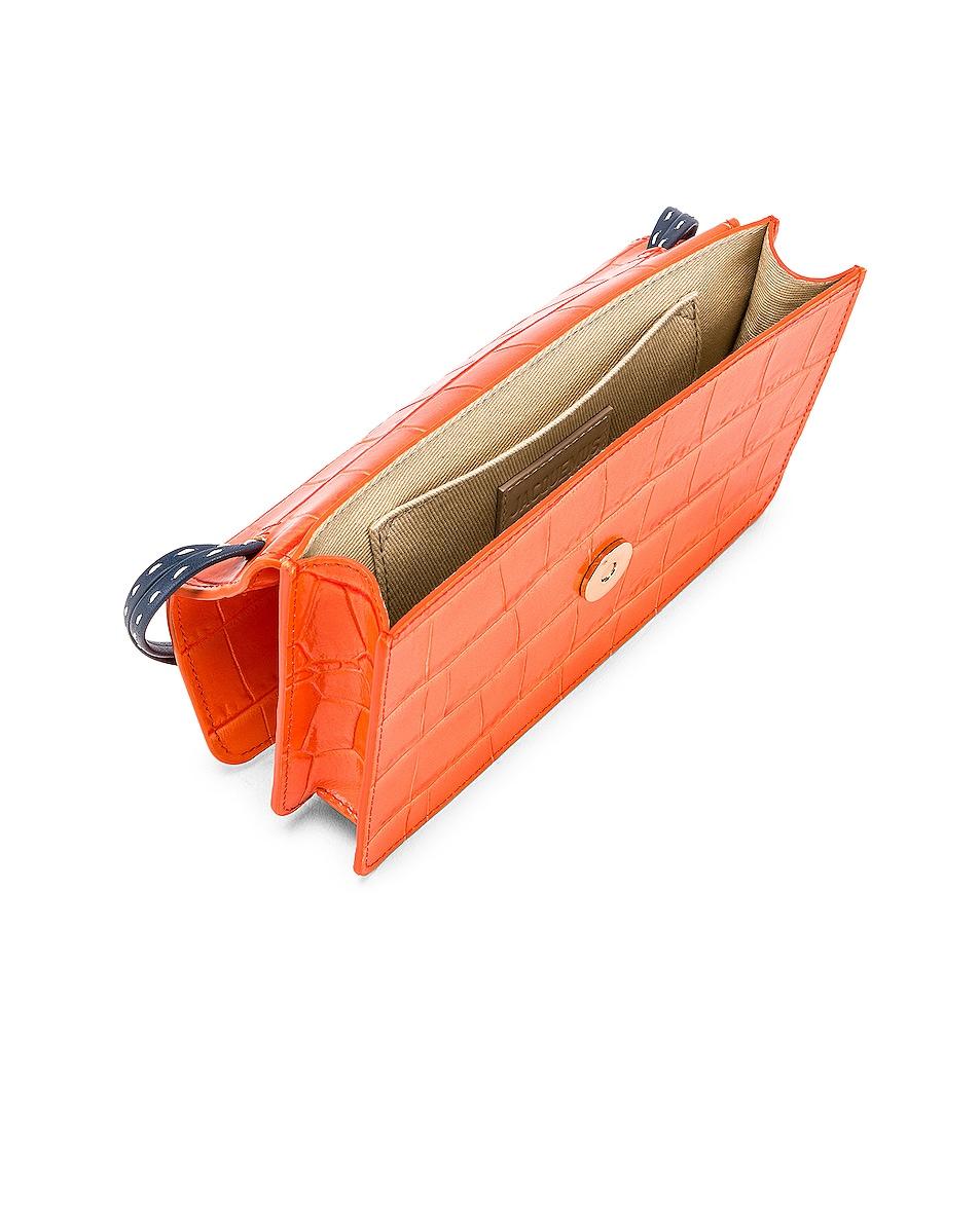 Image 5 of JACQUEMUS Le Sac Riviera Bag in Orange