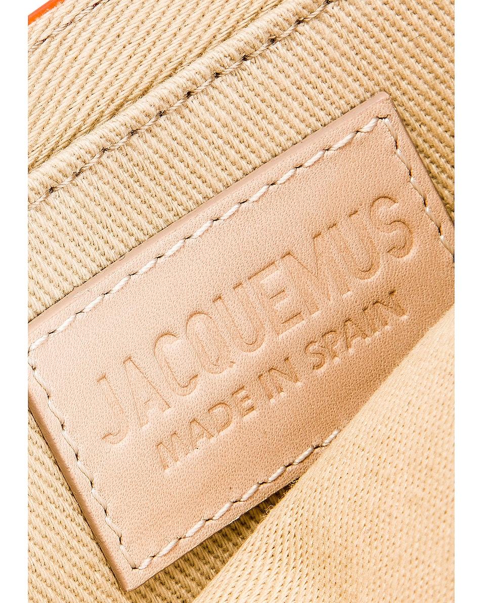 Image 7 of JACQUEMUS Le Sac Riviera Bag in Orange