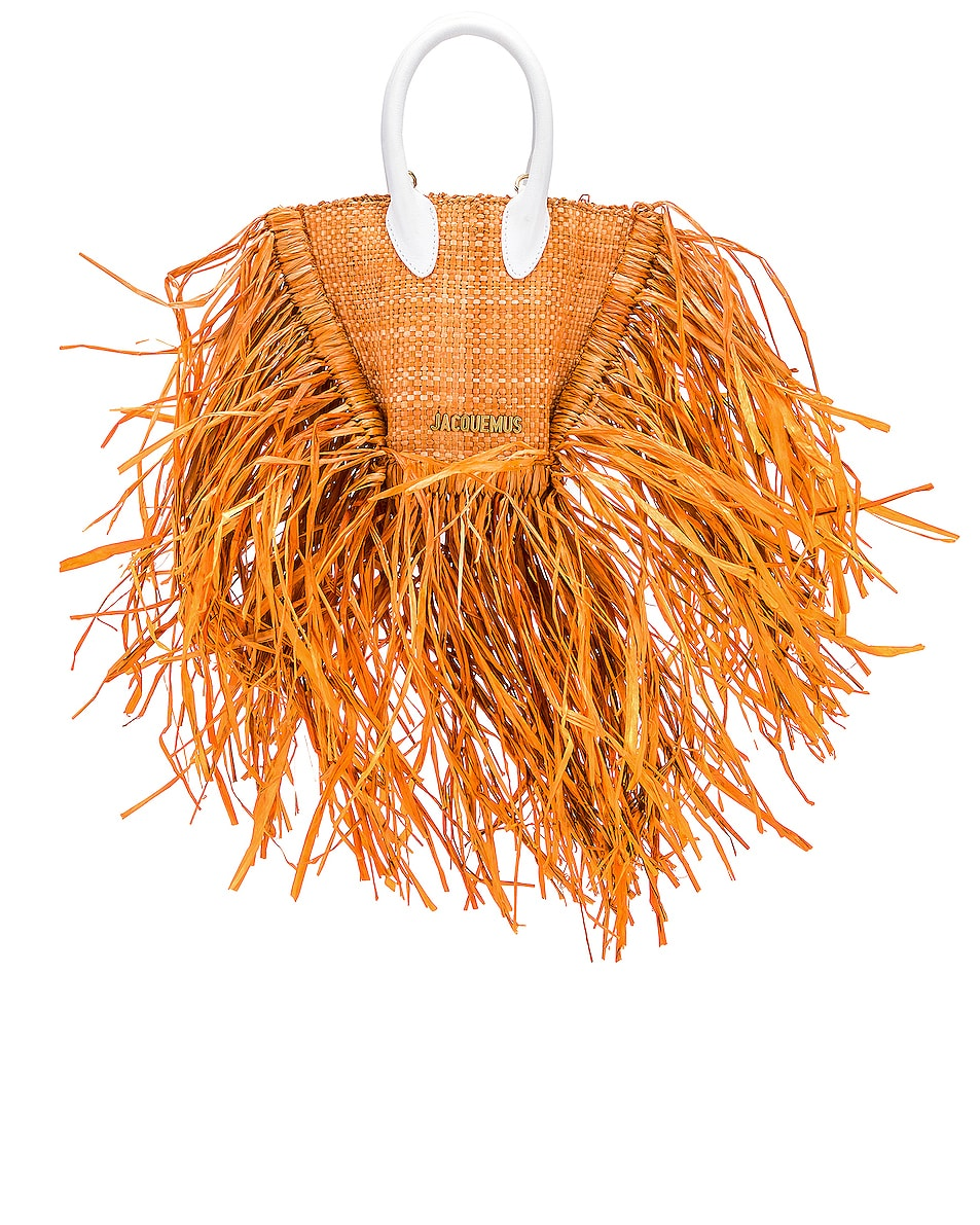 Image 1 of JACQUEMUS Le Petit Baci Bag in Terracotta