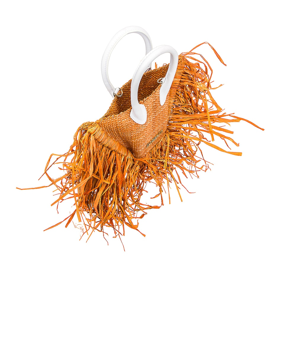 Image 5 of JACQUEMUS Le Petit Baci Bag in Terracotta