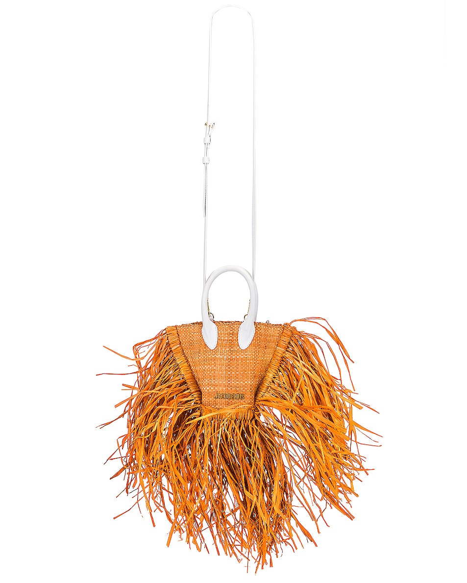 Image 6 of JACQUEMUS Le Petit Baci Bag in Terracotta