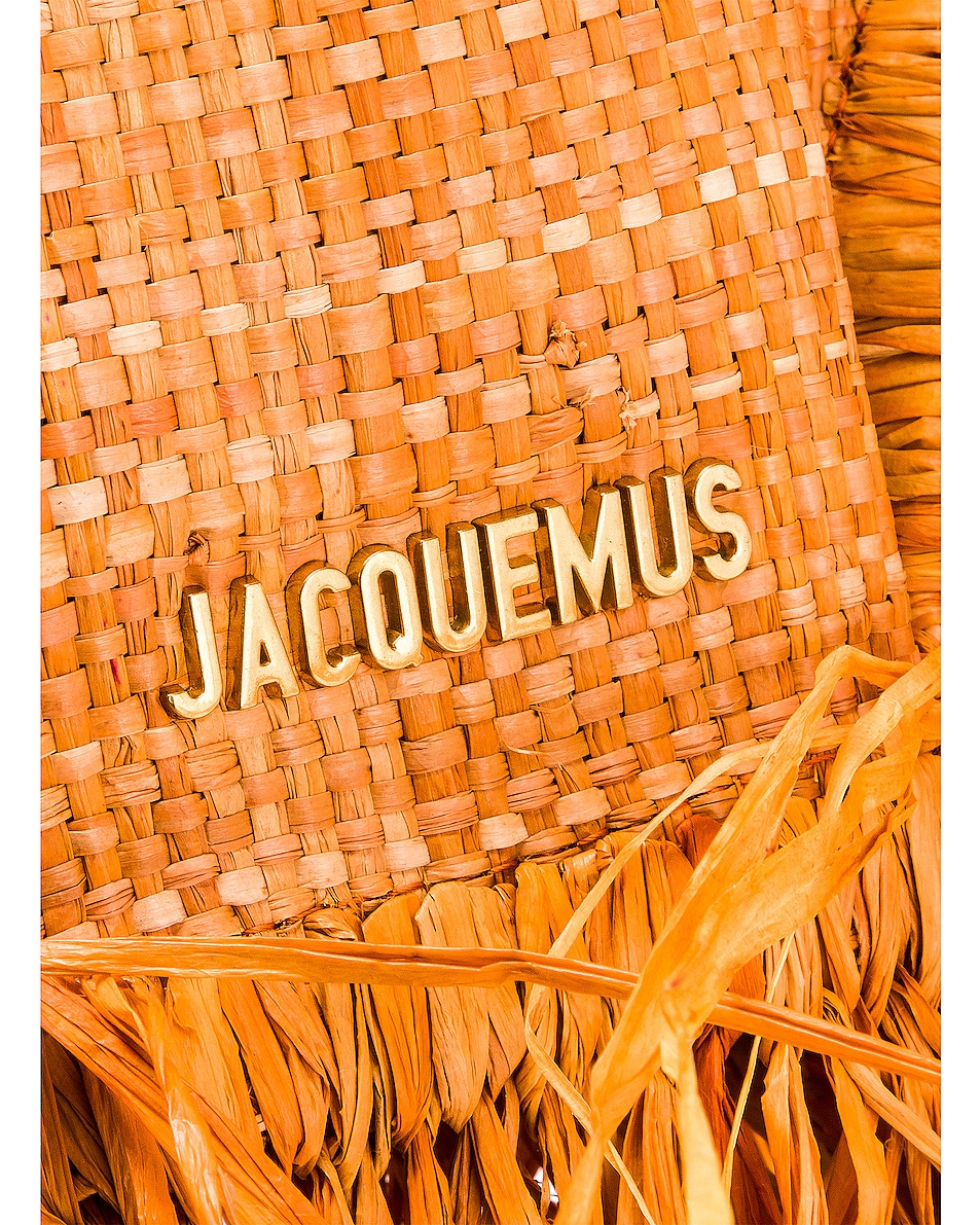 Image 7 of JACQUEMUS Le Petit Baci Bag in Terracotta