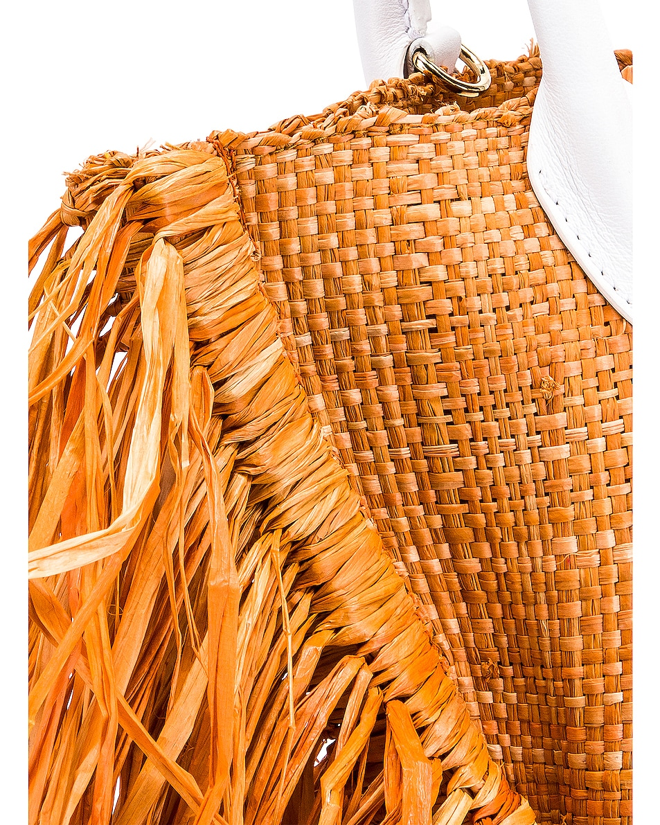 Image 8 of JACQUEMUS Le Petit Baci Bag in Terracotta