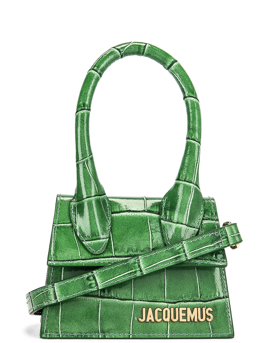 Image 1 of JACQUEMUS Le Chiquito Bag in Dark Green