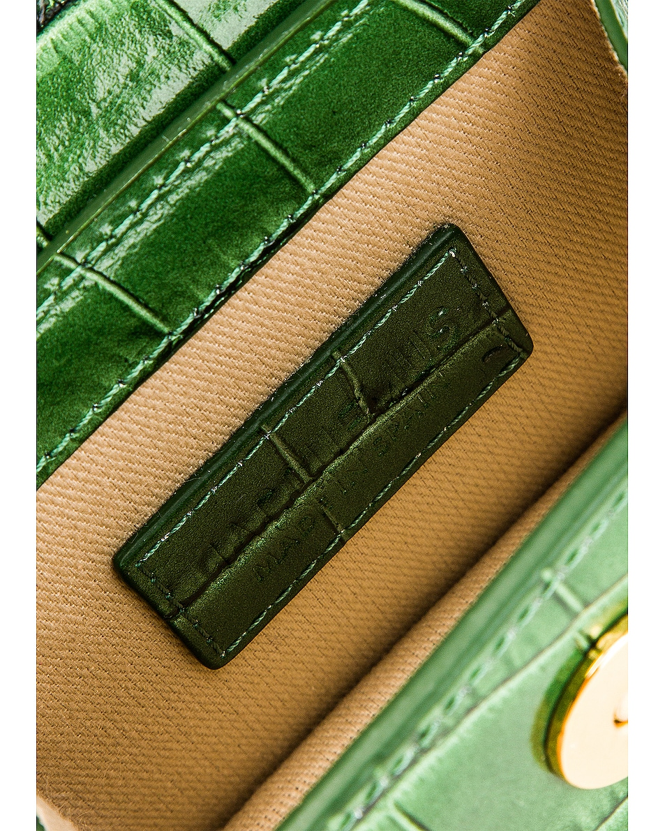 Image 6 of JACQUEMUS Le Chiquito Bag in Dark Green