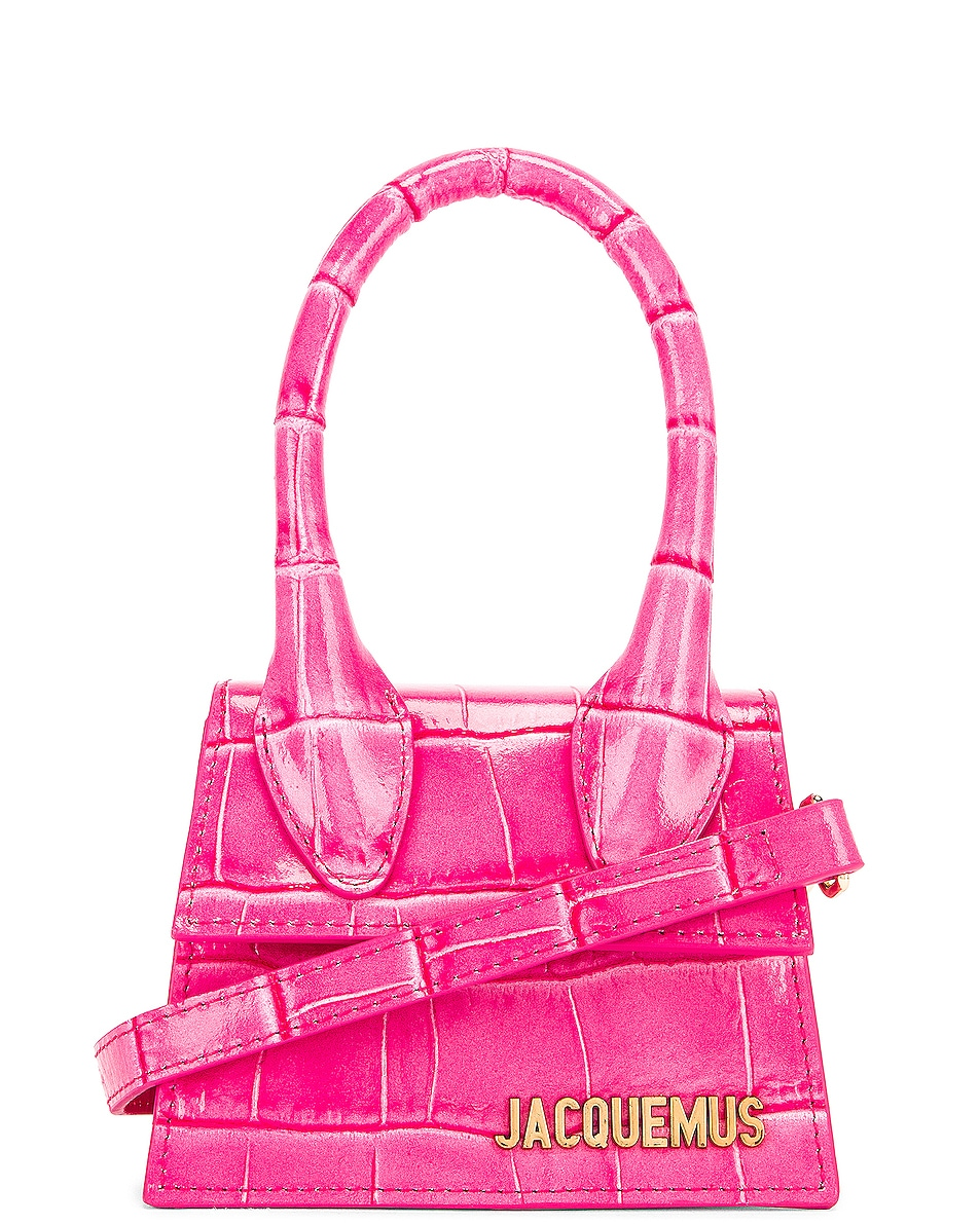 Image 1 of JACQUEMUS Le Chiquito Bag in Pink