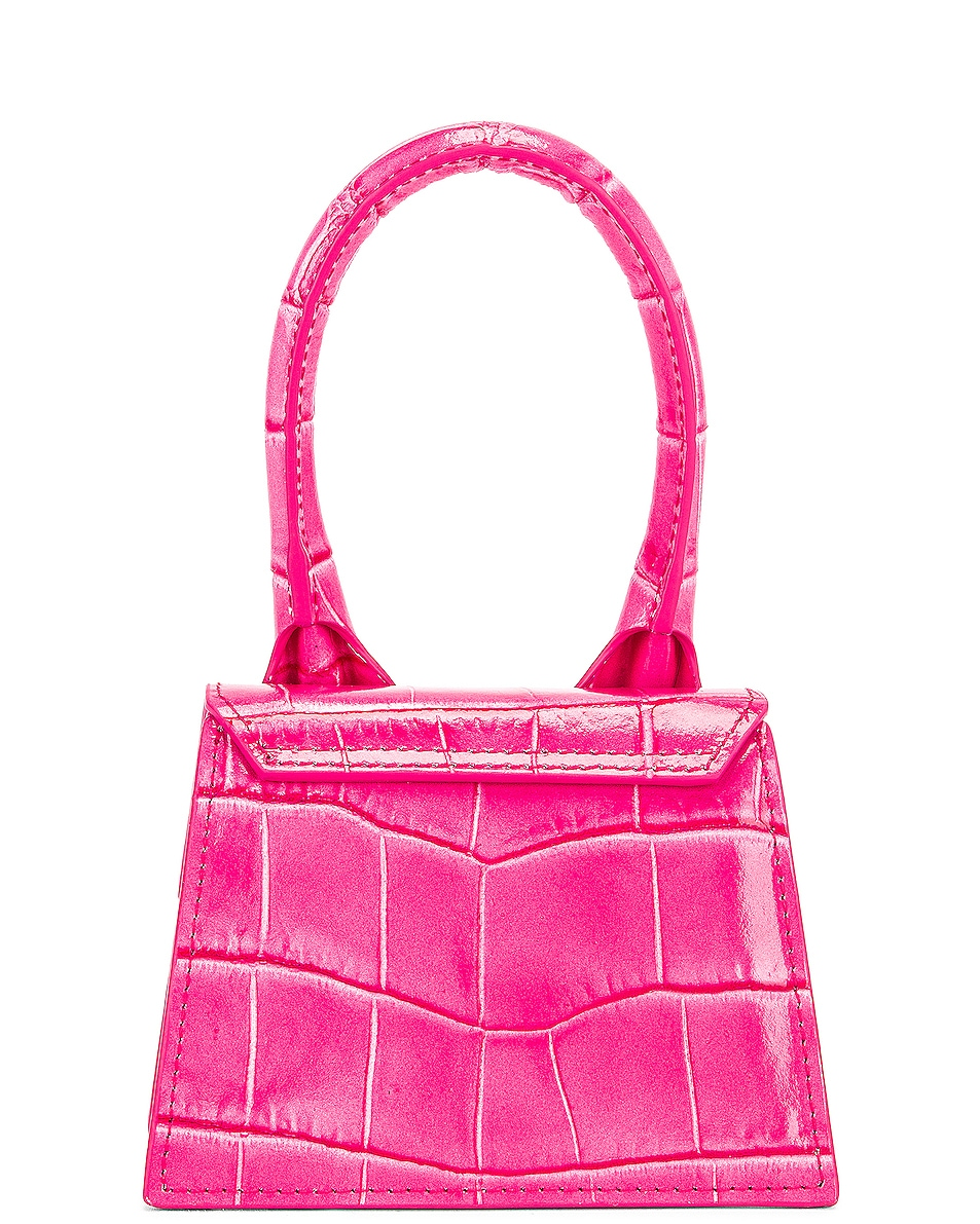 Image 2 of JACQUEMUS Le Chiquito Bag in Pink