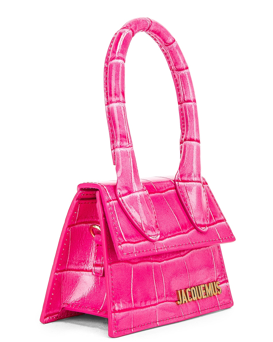 Image 3 of JACQUEMUS Le Chiquito Bag in Pink