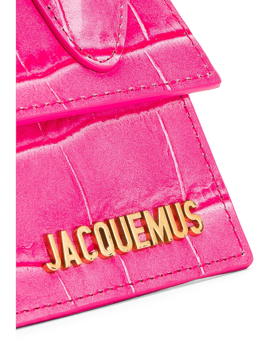 Image 7 of JACQUEMUS Le Chiquito Bag in Pink
