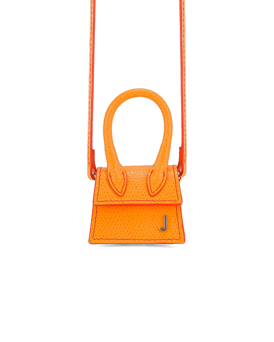 Image 1 of JACQUEMUS Petit Chiquito Bag in Orange