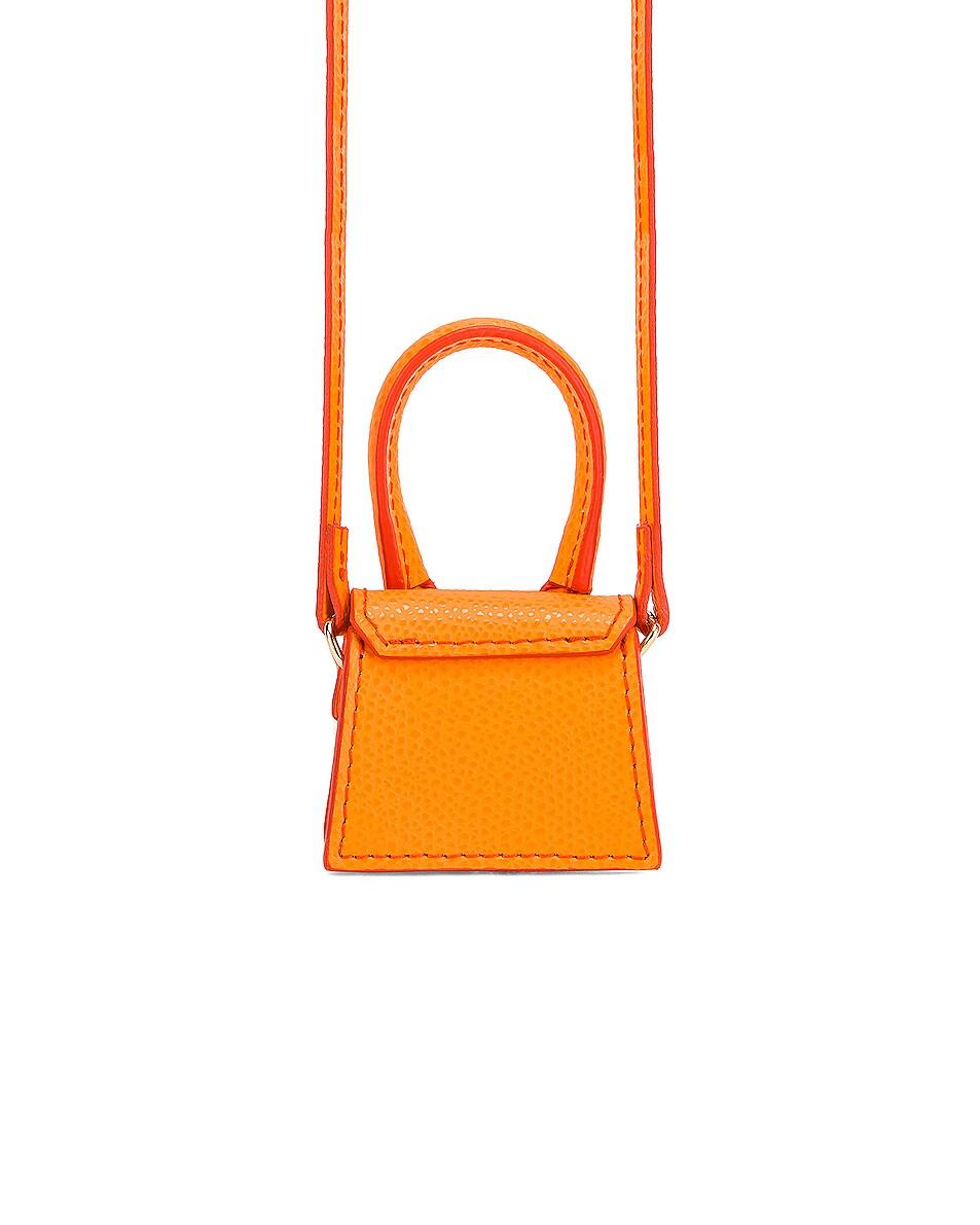 Image 2 of JACQUEMUS Petit Chiquito Bag in Orange