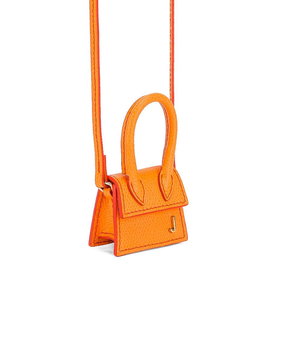Image 3 of JACQUEMUS Petit Chiquito Bag in Orange
