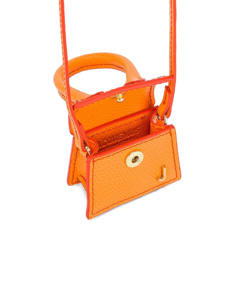 Image 4 of JACQUEMUS Petit Chiquito Bag in Orange