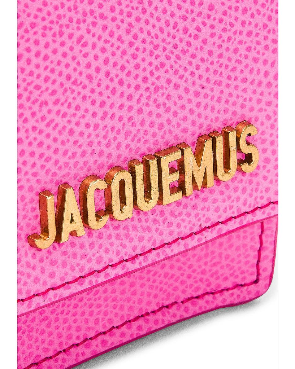 Image 7 of JACQUEMUS Bello Belt Bag in Pink