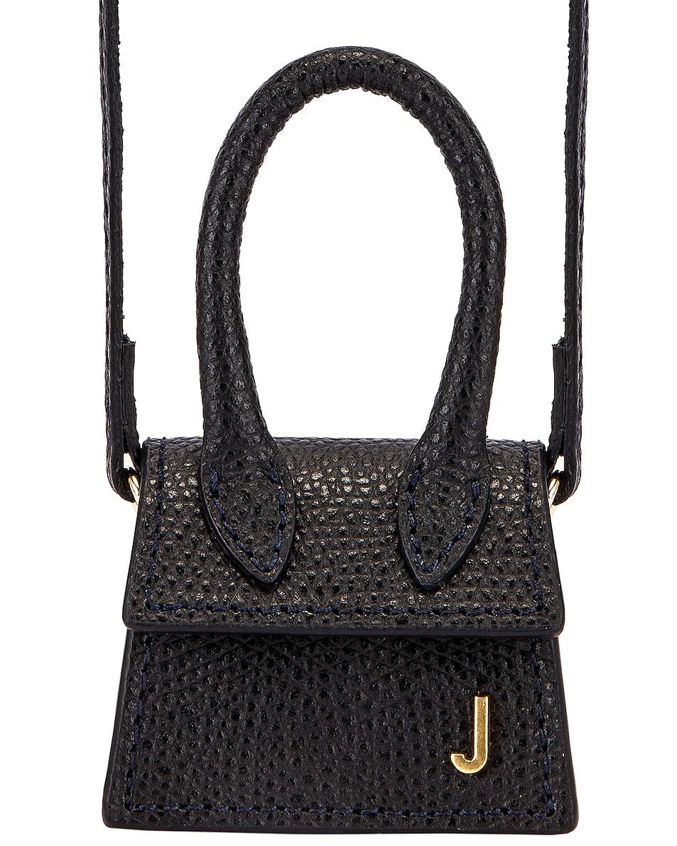 Image 1 of JACQUEMUS Petit Chiquito Bag in Black