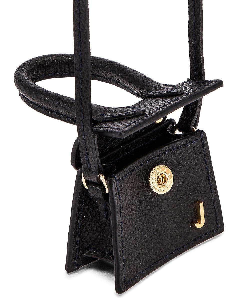 Image 4 of JACQUEMUS Petit Chiquito Bag in Black