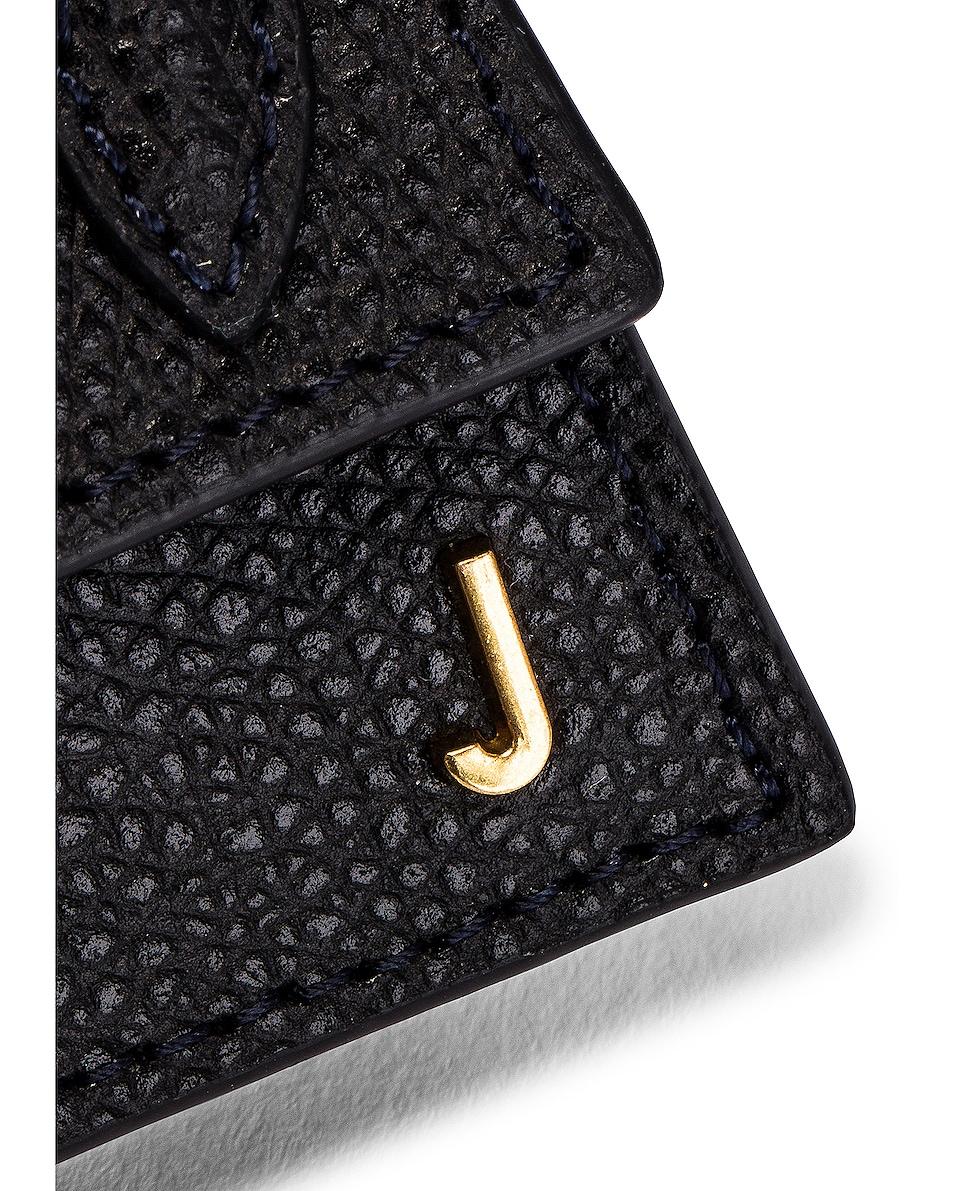 Image 7 of JACQUEMUS Petit Chiquito Bag in Black